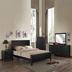 Black furniture - Homelegance Harris Bedroom