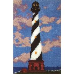 M C G Textiles Latch Hook Kit 1912Inch by 2712Inch Coastal Haven >>> Be sure to check out this awesome product. This Amazon pins is an affiliate link to Amazon.