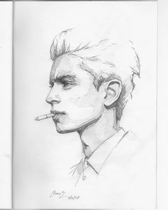 (@miro_z_art) Sketchbook  #face #portrait #sketch #sketching #sketchbook #paper #pencil #draw #drawing #art #artwork #fineart #contemporaryart #pencilsketch #pencildrawing #pencilart #miro_z #instaart #arts_help #beautifulbizarre #artist_4_shoutout #onyxkawai #spokeart #moderneden #supersonicart #abendgallery