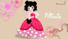 Disney Young Princess ~ Minnie by miss-lollyx-33