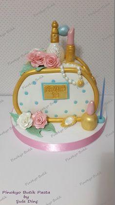 Pinokyo Butik Pasta ve Kurabiye - İzmit: Makyaj çantası pastası...