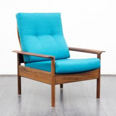 Velvet-Point - armchairs / easy chairs 1960s armchair, Scandinavian style…