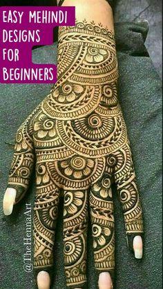 Circle Mehndi Designs, Latest Simple Mehndi Designs, Mehndi Designs Front Hand, Rose Mehndi Designs, Latest Bridal Mehndi Designs, Mehndi Designs 2018, Henna Art Designs, Mehndi Designs For Girls, Mehndi Designs For Beginners