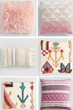 Pillow Party! Perfect pink pillows! #ShopStyle #shopthelook #SpringStyle #MyShopStyle #SummerStyle #homedecor #styleathome #decorate