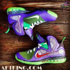 "Nike LeBron 9 ""JokerMan"" Custom."