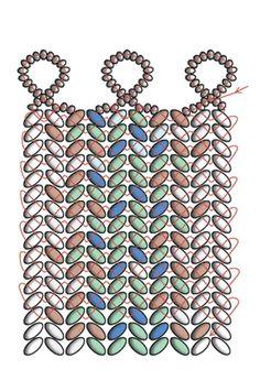 An elegant bracelet using the new, unique Czech two-hole TWIN seed beads | Preciosa Ornela