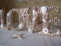 nautical beach seashell love