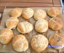 Rezept schnelle Sonntagsbrötchen von mabundes - Rezept der Kategorie Brot & Brötchen