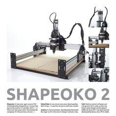ShapeOko Nice to have CNC printer: Cnc Plasma, Plasma Cutting, Cad Tools, Solar Tracker, Diy Cnc, Cnc Projects, Mechanical Engineering, Cnc Router, Dremel