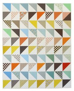 In This Corner Quilt Pattern by Denyse Schmidt