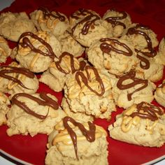 This is a delicious way of enjoying a thick, moist peanut butter cookie.  I always double the batch. They are gone so quickly!  Enjoy!