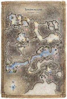 Reavers of Harkenwold; Toadwallow Caverns (Digital DM & Player Versions) $1.75