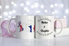 Long Distance mug, the perfect long distance gift for the family £15.99 Long Distance Mugs, Long Distance Boyfriend, Gifts For Dad, Gifts For Women, Husband Gifts, Family Gifts, Christmas Gifts For Her, Etsy Christmas, Goodbye Gifts