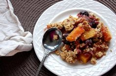 3. Cherry-Mango Crumble