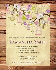 Vintage Baby Shower Invitation Vintage by StellarDesignsPro, $21.00