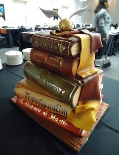 The Most Spectacular Film And Tv Inspired Cakes Harry Potter