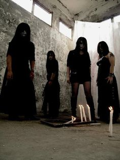 All-female black metal band Blair Witch