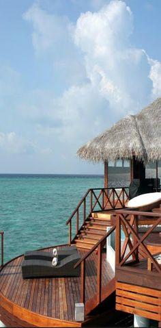 The Infinite Gallery : Huvafen Fushi, Maldives