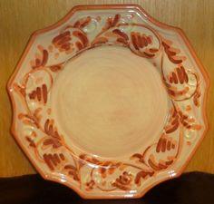Vietri - Arabesco - Hand Painted Italian Salad Plate - Rare