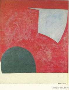 Serge Poliakoff, Composition 1950 (from the book by Gerard Durozoi-Edit. 1984)