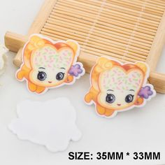 50pcs/lot New Kawaii Cartoon Shopkins Flatback Resins DIY Resin Crafts Planar Resin for Home Decoration Accessories DL-464