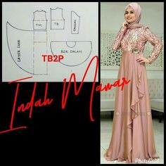 Batik Fashion, Abaya Fashion, Fashion Sewing, Linen Dresses, Modest Dresses, Trendy Dresses, Dress Muslim Modern, Muslim Dress, Long Dress Patterns
