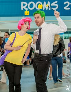 The Fairly OddParents Cosmo and Wanda | SDCC 2013 #ComicCon #Cosply #SDCC2014