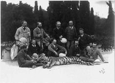 British in Colonial India Photo Essay: The Prince of Wales with a Tiger,