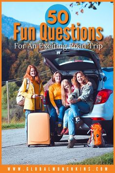 Road trips with friends or family can be fun and exciting. One of the best parts of any road trip are the conversations, it helps everyone feel more connected. However, there will be times where it becomes boring if you don't have any conversation starters to keep it lively. Luckily (and sometimes unlucky), I have a husband who has an endless amount of random road trip questions to keep the conversation going.