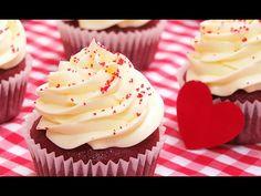 Cupcakes Red Velvet | Fáciles y Deliciosos - YouTube
