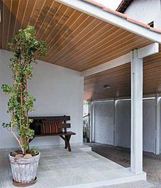 Outdoor Decor, Pergola Designs, False Ceiling Design, Sky Ceiling, Pvc Panels, Exterior, Pvc Ceiling Panels, Garage Lighting, Lake House