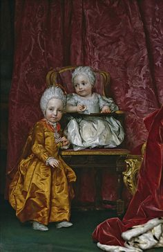 Anton Raphaël Mengs (1728 - 1779) Archduke Leopold and Archduchess Maria Anna
