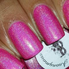 Anonymous Lacquer: Pinkini (Swatch By: @notoriousnicky) **