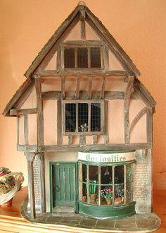 Image result for half-timber cottage dollhouse