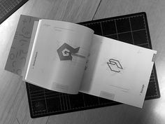 In[grid]ients Typography Book on Behance