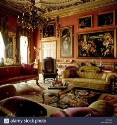 drawing-room-at-burghley-house-APCJGG.jpg (1300×1390)