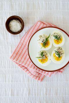 Recipe File: Eggs With Mustard-Dill Cream