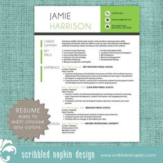 Math Teacher Resume Captivating Teacher Resume Template Sleek Design  Resumebusinessbranding .