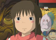 Can't you tell? You're son is a mouse and your annoying mini raven/crow lady turned into a bird the size of an insect! C'mon, it shouldn't be That hard to tell the difference, right? Spirited Away