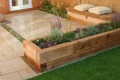 Awesome Modern Garden Architecture Design Ideas 07 Source by ninwan Back Garden Design, Modern Garden Design, Backyard Garden Design, Backyard Designs, Backyard Ideas, Modern Design, Modern Patio, Small Gardens, Outdoor Gardens