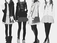 (ღ˘⌣˘ღ) ♫・*:.。. .。.:*・ anime girl