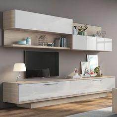 Modular furniture wall Ideas for 2019 - Wohnzimmer Inspiration - Modular furniture wall Ideas for 2019 - Living Room Wall Units, Living Room Tv Unit Designs, Home Living Room, Interior Design Living Room, Living Room Decor, Living Room Tv Cabinet, Tv Unit Furniture, Modular Furniture, Living Room Furniture