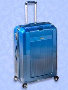 COLECCIÓN LUXURY Valija rígida de 4 ruedas. Con enganche en la parte posterior, para transportar un segundo equipaje. www.primicia.com.ar