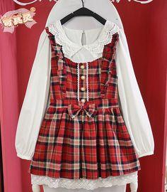 "☆ Cute Plaid ""Winter/Fall"" Dress ☆"