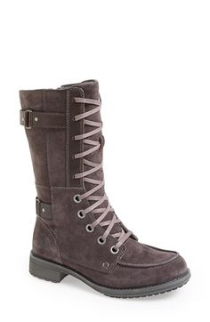 Free shipping and returns on The North Face 'Bridgeton Lace' Suede Boot (Women) at Nordstrom.com. A waterproof, insulated, velvety suede lace-up boot features a durable TNF Winter Grip™ sole for superior traction, making it a fashionable choice when the weather threatens its worst.