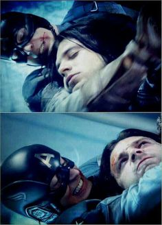 Captain America and The Winter Soldier - Steve and Bucky