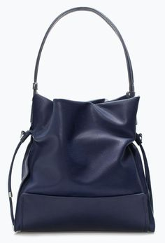Gorgeous Drawstring Bucket Bag at Zara at a really nice price