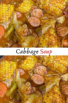 Cabbage Soup #Cabbage #Soup