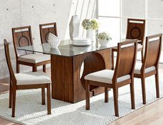 15 Fabulous Dinning Table Design Ideas that You'll Love - DecOMG Wooden Dining Table Designs, Dinning Table Design, Simple Dining Table, Formal Dining Tables, Dinning Set, Wooden Dining Tables, Glass Dining Table, Dining Room Sets, Dining Room Table Decor