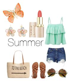 """""""#2"""" by fire-flower7001 ❤ liked on Polyvore featuring LE3NO, Topshop, Billabong, Style & Co. and Mixit"""